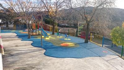 Parque de juegos en Puerto Moral